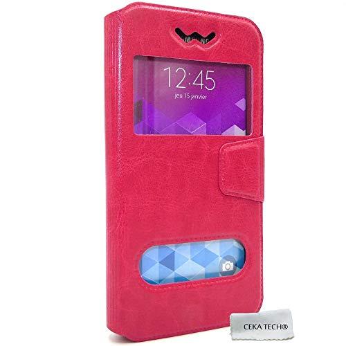 Funda Compatible QILIVE Smartphone Q7 5 - Rosa - CEKATECH®