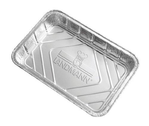 Landmann 312 Lèches-frites en Aluminium, Paquet de 10