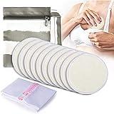 Discos de Lactancia Lavables de Bambú 10pcs, Momcozy discos Absorbentes Lactancia Almohadillas para Lactancia, Cubiertas de Pezón para Maternidad, con Bolsa para Lavandería y Bolsa de Viaje