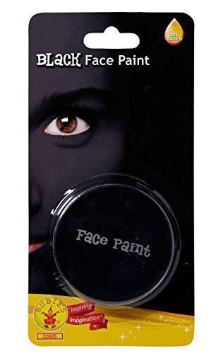 Rubie's-déguisement officiel - Rubie's- Peinture pour visage noir- I-32605