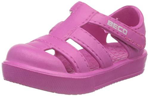 BECO Beermann GmbH & Co. KG Unisex-Kinder Badeschuh-90033 Badeschuhe, Pink (Pink 4), 24 EU