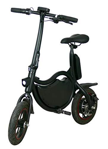 """elrofu E-Scooter """"Bike"""", 20 km/h, 250 Watt, 13,5 kg, Straßenzulassung: Schweiz und Österreich, Elektro Roller, Elektroroller, E-Roller, 25 Kilometer Reichweite, City-Scooter, Produktvideo"""