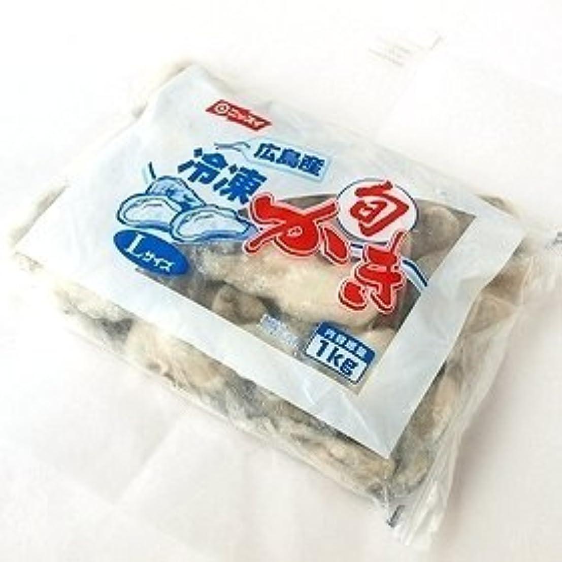 白鳥線許可ニッスイ 広島産 冷凍旬ツブかき(加熱用) Lサイズ 850g×2パック 要冷凍