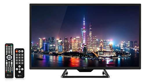"Telesystem TV LED HD 12V Camper 24"" DECODER SATELLITARE E TERRESTRE Ci+ HDMI PALCO24"