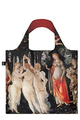 Sandro Botticelli, Primavera. Bag: LOQI Bag: Ich Wiege 55 g. Ich kann 20 kg tragen. Ich Bin wasserabweisend und waschbar. Oeko-TEX® Zertifiziert und aus Polyester.