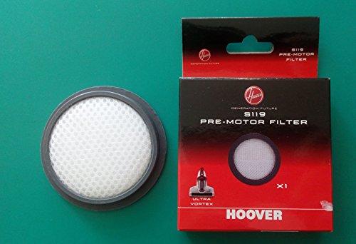 Hoover 35601675 Pre-motor filter Vormotorfilter, plastik, schwarz, weiß