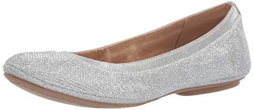Bandolino Footwear Women's Edition Ballet Flat, Silver, 8