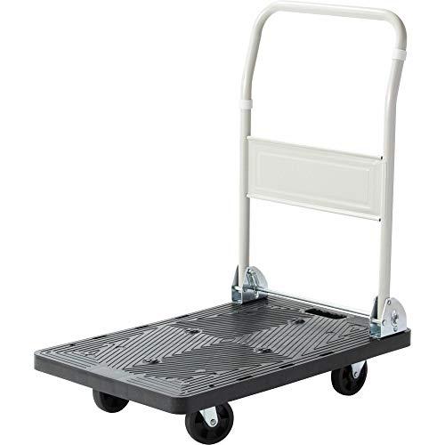 アイリスプラザ 台車 業務用台車 折りたたみ 軽量 静音 耐荷重 150kg