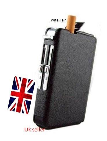 OFTEN Automatic Ejection Butane Cigarette Lighter Case Box Holder Windproof Dispenser