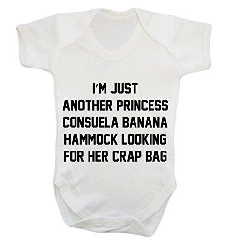 Je suis juste un autre Princess Consuela Banana Hammock recherche pour elle Crap Sac Body Gilet pour bébé Body - Blanc - XXXL