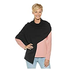 UPF 50+ - blocks 98% of UV radiation ZnO™ fabric: Super soft against the skin, lightweight, cool and comfortable with the highest quality zinc oxide protection 72 inches X 29 inches; Multiple ways to wear, great for travel Easy care: machine w...