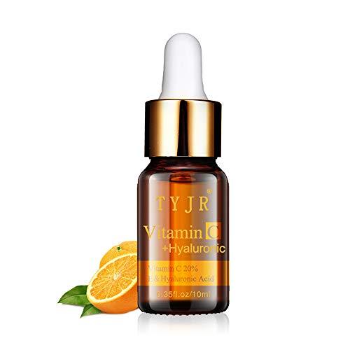 Neubula 10ML Vitamine C liquide d'origine,100% naturelle, pressée à froid, vegan – Sérum visage, anti-âge, anti-rides, – Huile de base naturelle (odeur d'orange)