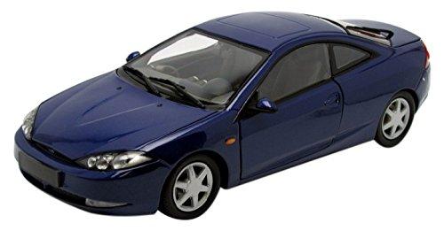 Action Racing- Miniature Voiture de Collection, Cougar, Bleu métal