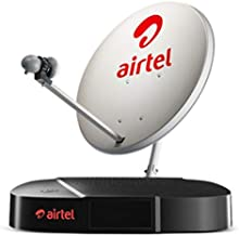 Airtel Digital TV HD Set Top Box with 1 Month Value Lite HD Pack
