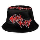 Sombrero de Pescador Gorra de protección Solar Fatal Fury Fisherman Hat Sun Protection Packable for Summer Outdoor Traveling