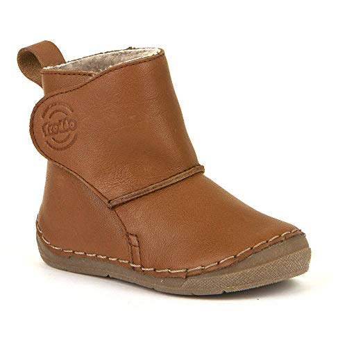 Froddo Unisex-Kinder G2160057 Child Ankle Boot, Cognac, 27 EU