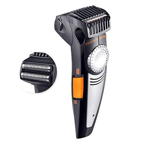 Draadloze tondeuse oplaadbare batterij LED display licht vervolmaken Haircutting Kit for Men - Krachtige Total Body Knippen, bijsnijden, Grooming