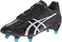 ASICS Men's Gel-Lethal Speed Black/Silver/Deep Blue Rugby Shoe - 13 D(M) US from ASICS America Corporation