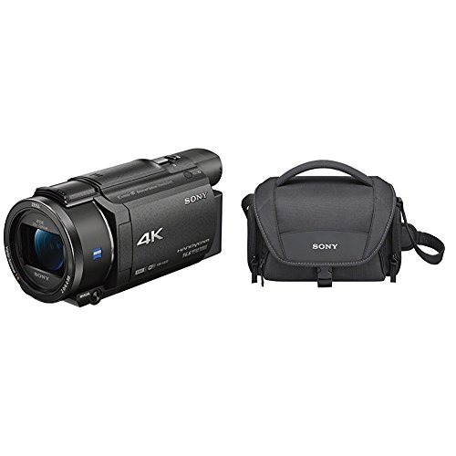 Sony Handycam FDR-AX53 - Videocámara, Pantalla de 3', con grabación 4K Ultra HD,...