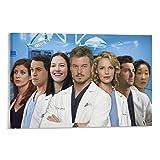LANTOU Cast of Greys Anatomy Poster Home Decor Poster Wall