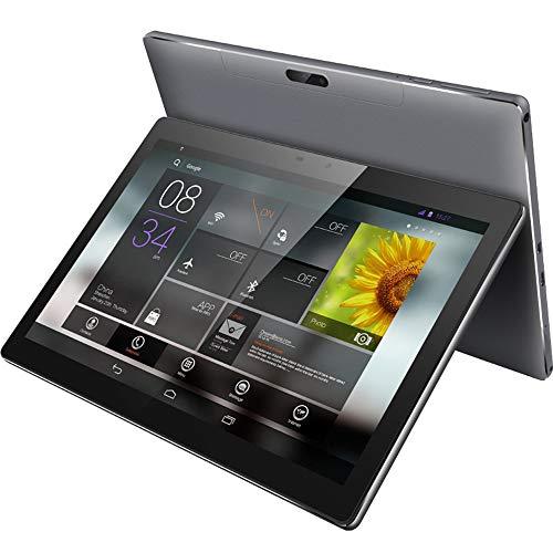 tablet PC con Android Pantalla IPS HD PC de 10 Pulgadas Que Funciona sin Problemas Cámaras HD Delanteras y traseras Altavoces estéreo PC Multifuncional