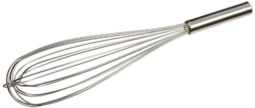 """Carlisle 40683 Chef Series Stainless Steel Commercial French Whips, 18"""" Long (Pack of 2)"""
