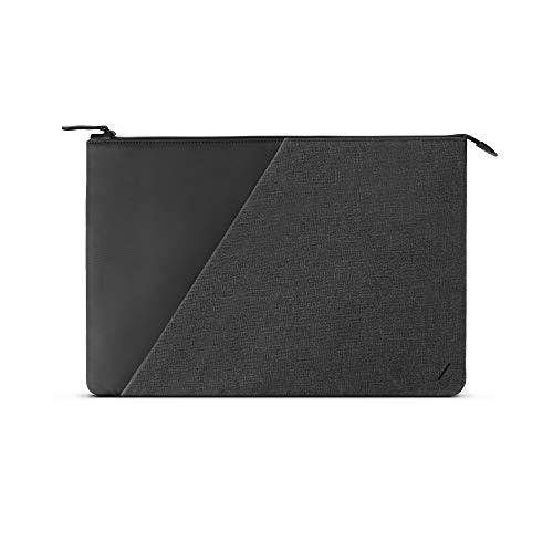 """Native Union Stow Pochette pour Ordinateur Portable de 15""""-16"""" - Protection Fine et Élégante sur 360 Degrés et Poche Extérieure Compatible avec Les MacBook 15""""/MacBook Pro 16"""" (Slate)"""
