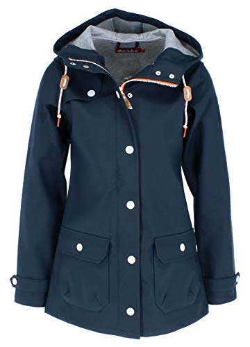 derbe Hamburg Peninsula Lightly Damen Regenjacke, Deutsche Größen:44, Hamburg Farben:Navy/Grey