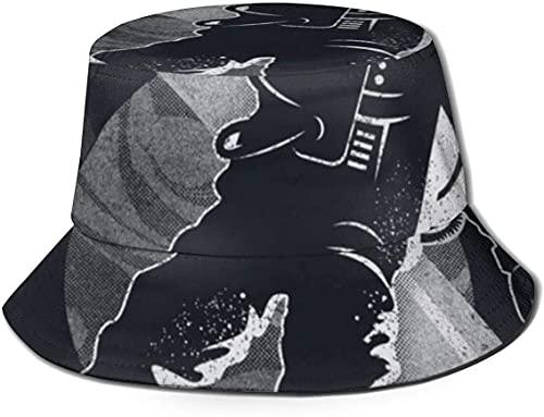 balderdash01 Bucket Hats Unisex Astronauta Triceratops Space Walk Bucket Hat Summer Fisherman's Hat-Astronaut Saturn Planet-One Size Flat Top Transpirable