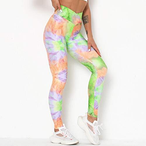 ShFhhwrl Mujer Leggins Pantalones De Yoga Mujer Impresión Digital Fitness Leggings De Cintura Alta para Fitness Push Up Leggings De Entrenamiento Entrenamiento
