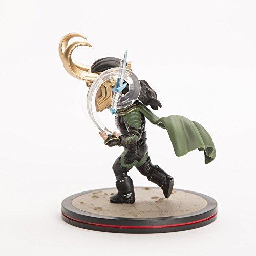 Quantum Mechanix Loki Q-Fig Marvel Figure, Multicolore, Standard, MVL-0022