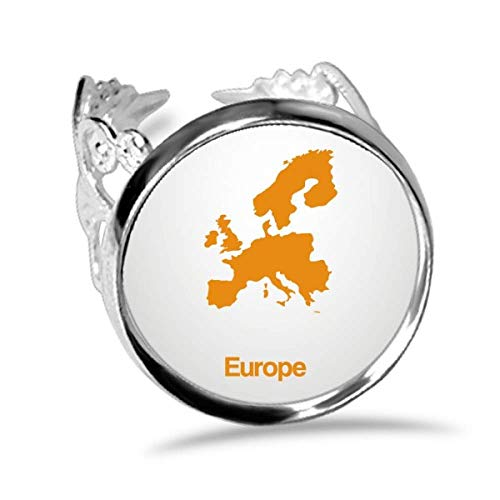 mapa europa de la marca DIYthinker