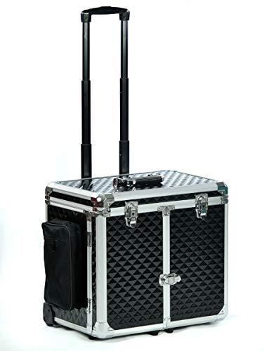 Fusspflegekoffer Modell CS-Glamour Schwarz Metallic im neuen Design