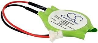 C & S 200mAh 02K6502 CMOS Battery for IBM Thinkpad 600E 2645-3AU, Thinkpad 600E 2645-41A, Thinkpad 600E 2645-4AA