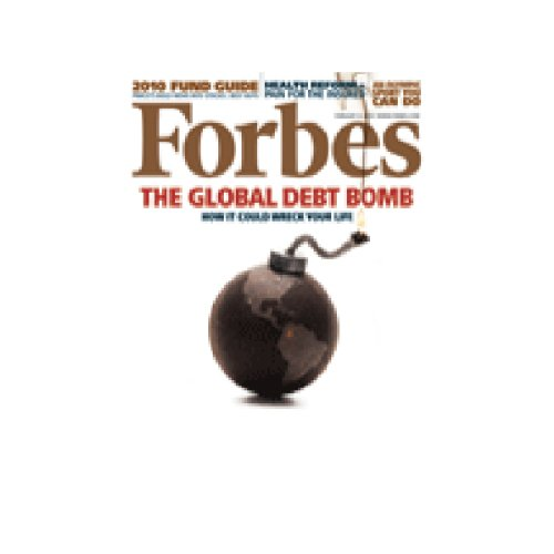 Forbes, January 25, 2010 audiobook cover art