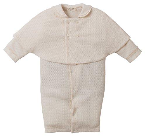 新生児 赤ちゃん用 ベビーセレモニードレス ケープ付きプリンス3点セット 日本製 オーガニックコットン アモローサマンマ