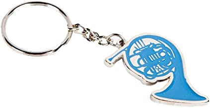 How I Met Your Mother Blue French Horn- COOLTVPROPS Blue French Horn Keychain- HIMYM Merchandise Blue Horn- Decorative Blue French Horn-Robin Keychain- Blue French Horn Keychain