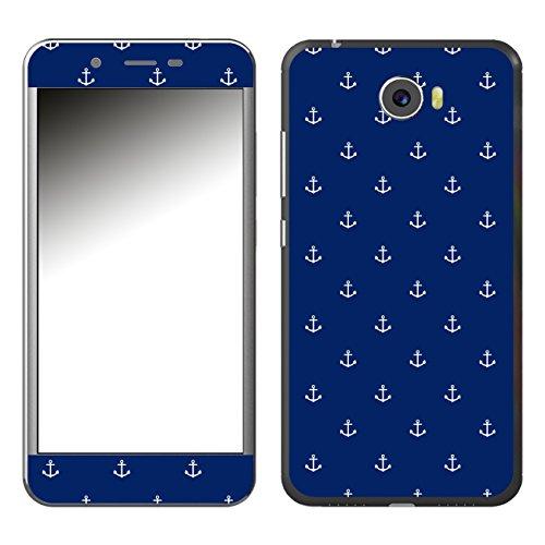 DISAGU SF-106921_1039 Design Folie für Archos 50 Cobalt - Motiv kleine Anker - dunkelblau