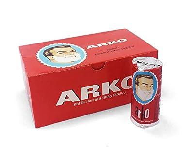 Arko EVYAP Shaving Cream Soap 900 Grams, 12 Pieces