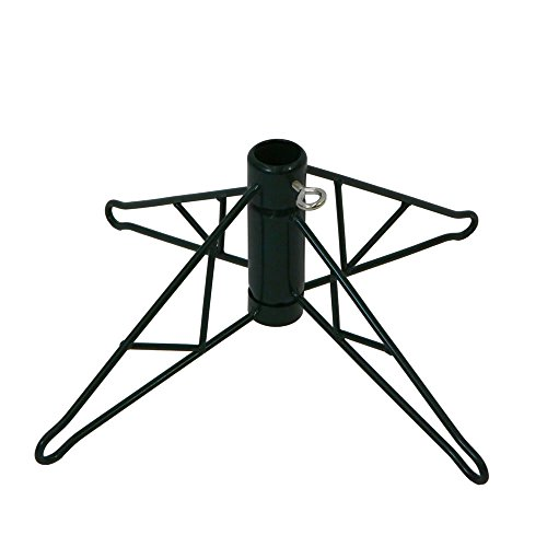 Vickerman Green Metal Christmas Tree Stand For 12'-15' Artificial Trees