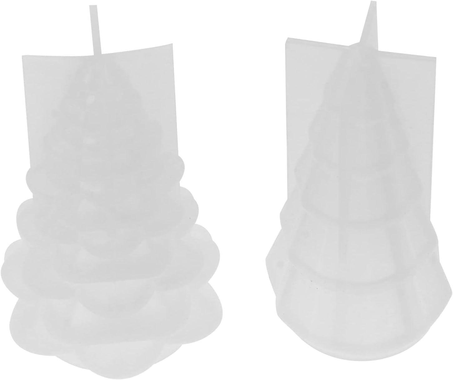 BESPORTBLE 3D Christmas Max Gorgeous 79% OFF Tree Silicone Mold Resi Epoxy Resin 2Pcs