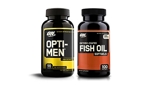 Opti-Men & Fish Oil, 2 Piece Set