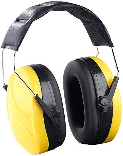 AGT Ohrschutz: Universal-Kapsel-Gehörschutz für Lärmpegel bis 98 dB, EN 352-1 (Lärmschutz)