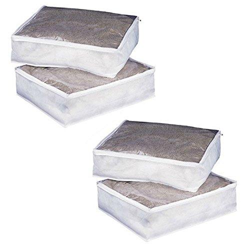 Organize It All (4-Pack) Zephyr Blanket Bag 56551