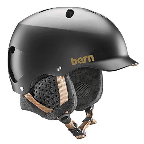 Bern Damen Lenox Helm, schwarz matt, S