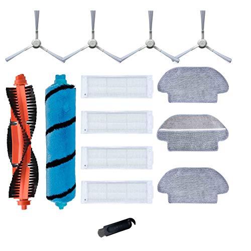 Pezzi di ricambio per Mi Robot Vacuum Mop Pro 26200 26199 Proscenic M6 PRO Viomi V2 Pro V3 SE filtro HEPA spazzola laterale panno principale accessori