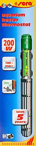 sera 8740 Regelheizer 200W (für 200 Liter) Qualitätsheizer mit schockresistentem Quarzglas, Präzisions-Sicherheitsschaltung und Sicherheits-Protector - 2