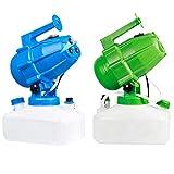 Gosear Elettrico Nebulizzatore Portatile, 5 Litri ULV Fogger Nebulizzatore Killer, Nebulizzatore Intelligente Spruzza Spruzzatori industriali per irrigazione