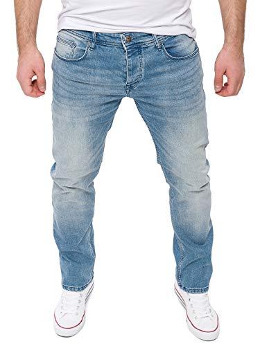 WOTEGA Herren Jeans Stretch Alistar - Hellblaue Slim Fit Jeanshosen - Blaue Hose für Männer Straight - Denim Hosen, Blau (C. Blue 184020), W32/L34