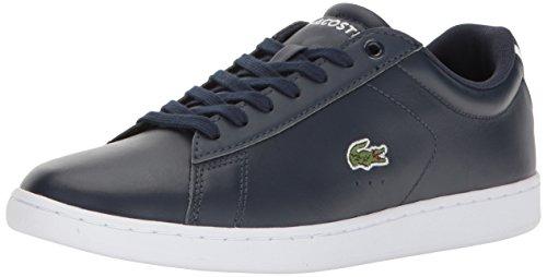 Lacoste Women's Carnaby Evo Bl 1 Shoe, Navy, 6 M US